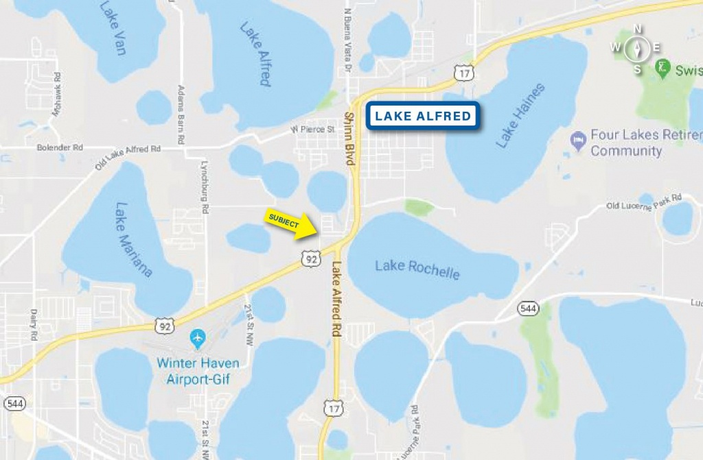 0 Us Hwy 92 West In Lake Alfred, Florida | Saunders Ralston Dantzler - Lake Alfred Florida Map