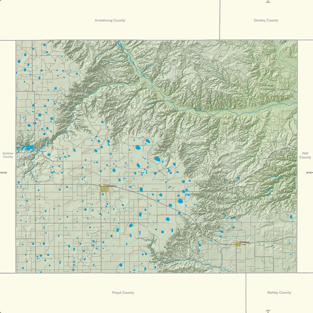 1-Site Offers Gis Resources For Texas Counties - Texas County Gis Map