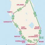 1 Week Florida Road Trip: Miami, The Atlantic Coast, & Orlando   Florida Road Trip Map