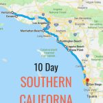 10 Day Itinerary   Best Places To Visit In Southern California   Best California Road Map