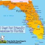 10 Of The Best Pet Friendly Beaches In Florida | Gopetfriendly   Map Of Alabama And Florida Beaches
