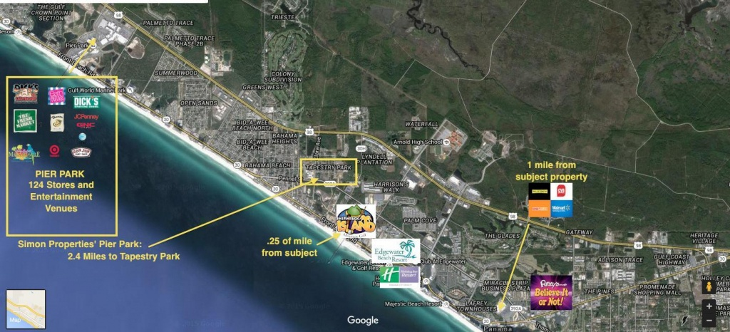 1111 Hutchinson,panama City Beach,fl 32407 | Crye-Leike - Hutchinson Beach Florida Map
