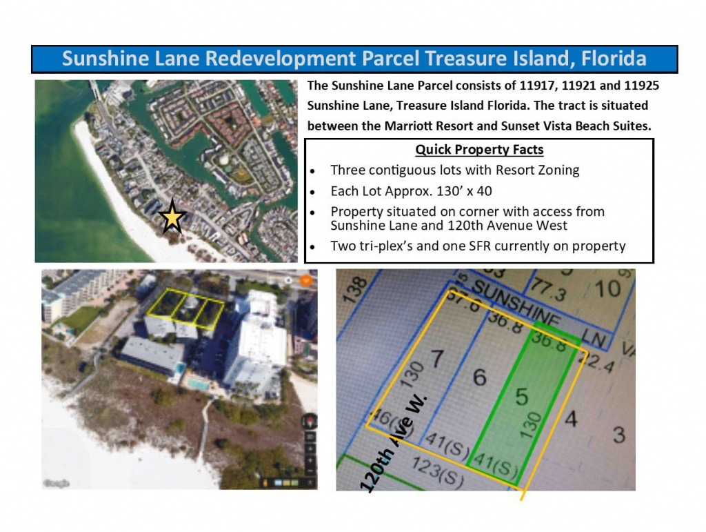 11921 Sunshine Ln, Treasure Island, Fl 33706 - Income/investment - Street Map Of Treasure Island Florida