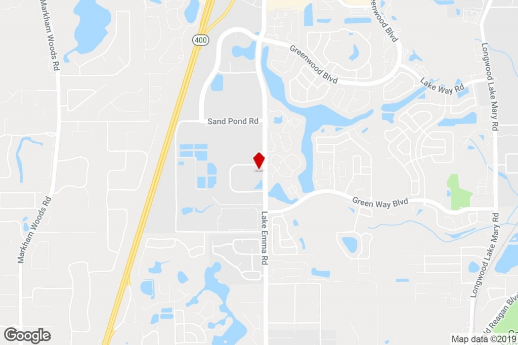 125 Technology Park, Lake Mary, Fl, 32746 - Light Manufacturing - Map Of Lake Mary Florida And Surrounding Areas