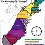 13 Colonies Map   Free Large Images | Home School | 13 Colonies   New England Colonies Map Printable