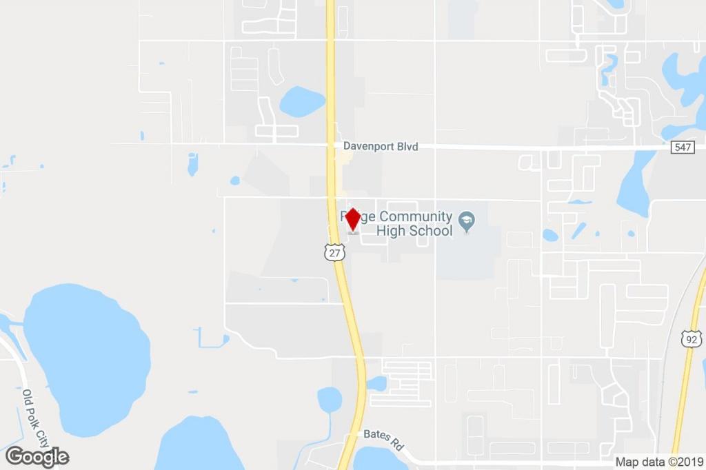 131 Webb Dr, Davenport, Fl, 33837 - Medical Property For Sale On - Davenport Florida Map