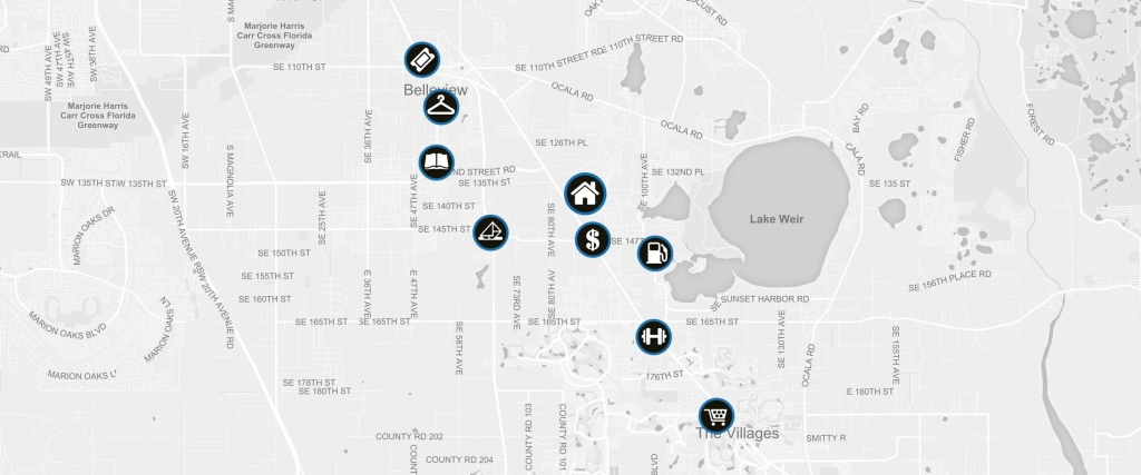 13716 Se 87Th Terrace Summerfield, Fl 34491   Rp Funding   Florida - Summerfield Florida Map