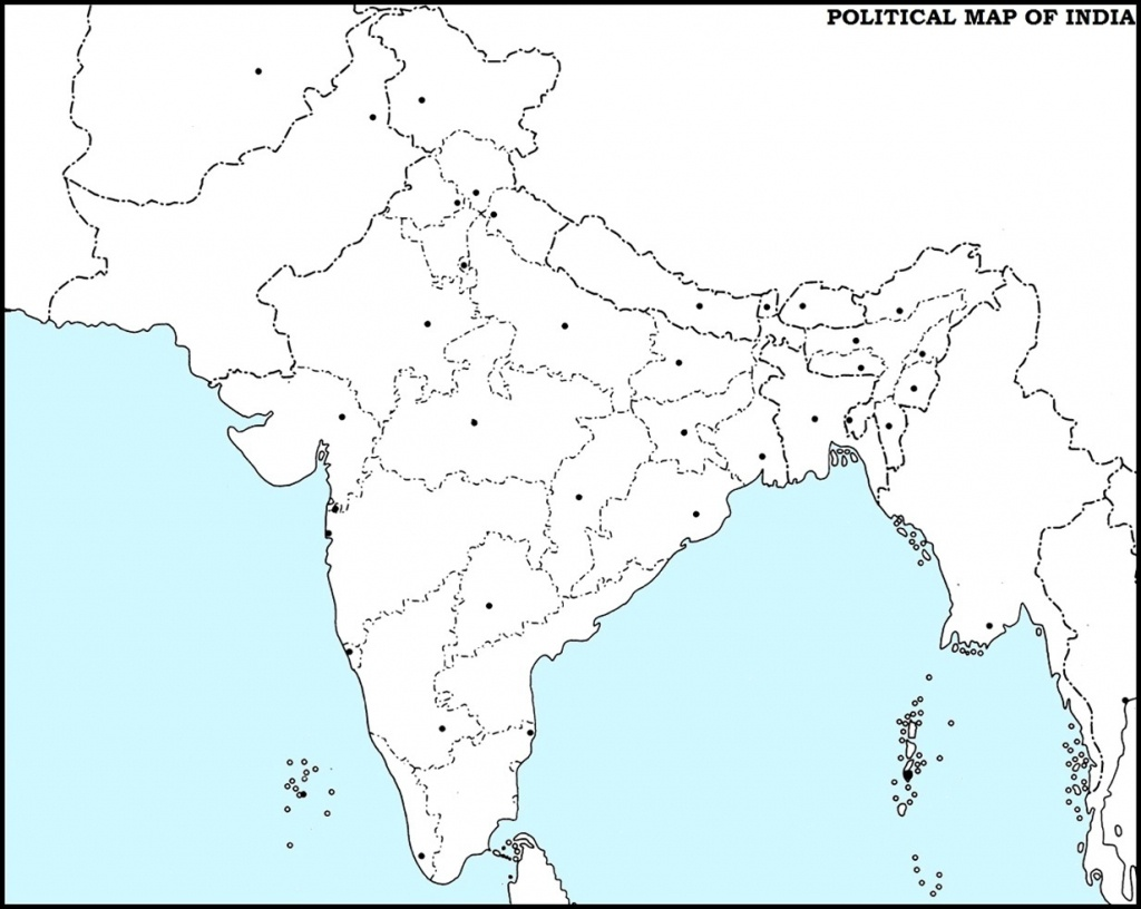 14 Important Maps Of India (Physical And Political Map) – Best Of India! - Physical Map Of India Printable