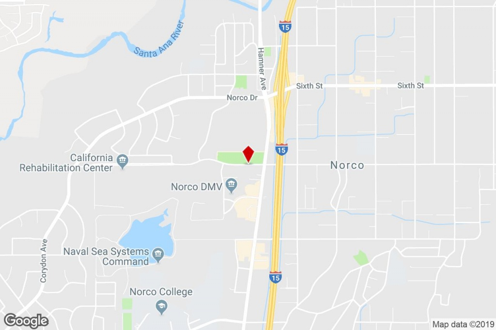 1800, 1830 5Th Street, Norco, Ca, 92860 - Industrial (Land) Property - Norco California Map
