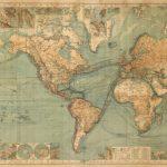 1863 World Map - Majesty Maps & Prints - Vintage World Map Printable
