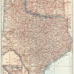 1914 Antique Texas Map Oklahoma Map State Map Of Oklahoma | Etsy   Antique Texas Map Reproductions