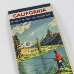 1950S California Road Map Book From Chevron Gas And Rpm Motor | Etsy   California Road Map Book