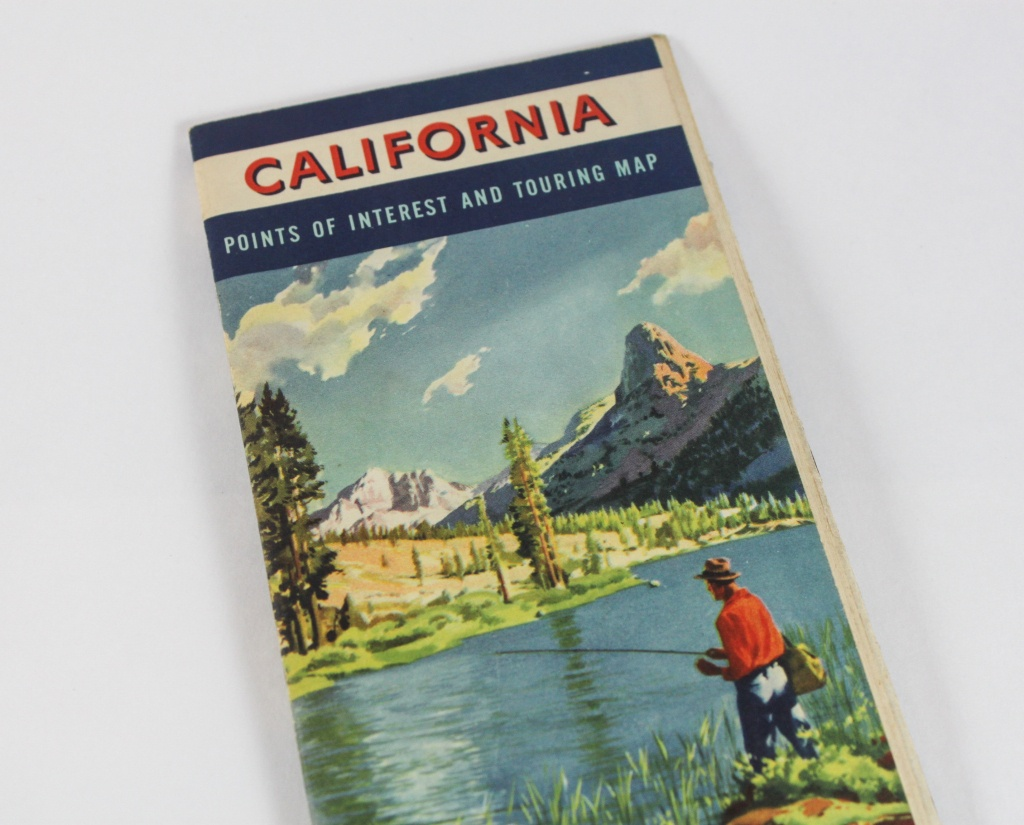 1950S California Road Map Book From Chevron Gas And Rpm Motor | Etsy - California Road Map Book