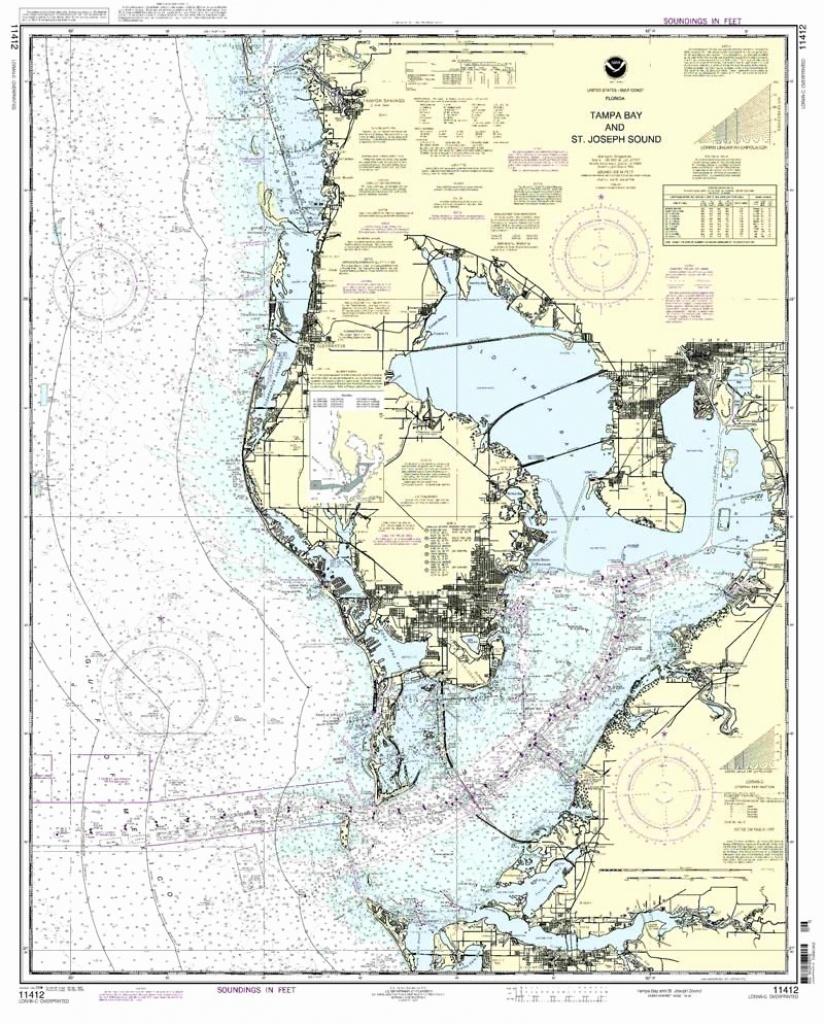 20 Florida Water Depth Chart – Pensmontblanc - Water Depth Map Florida