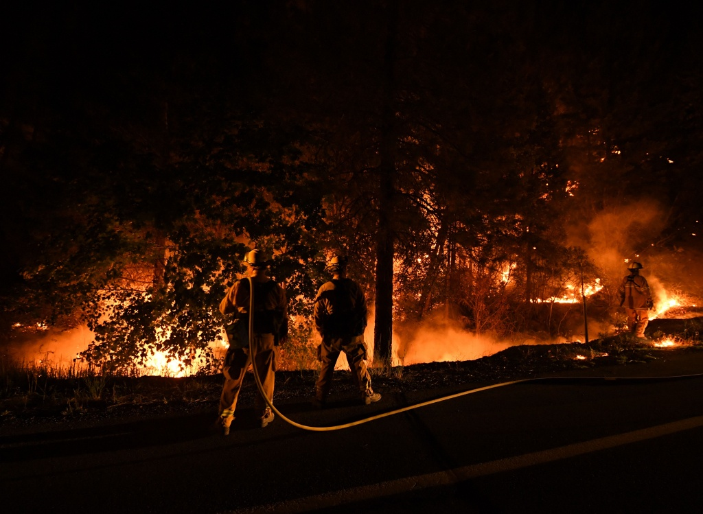 2018 California Wildfire Map Shows 14 Active Fires | Time - California Fire Heat Map