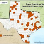 2018 Texas West Nile Virus Maps   Mountain Lions In Texas Map
