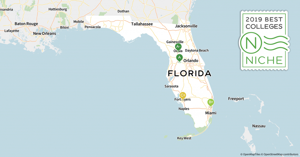 2019 Best Colleges In Florida - Niche - Florida State University Map