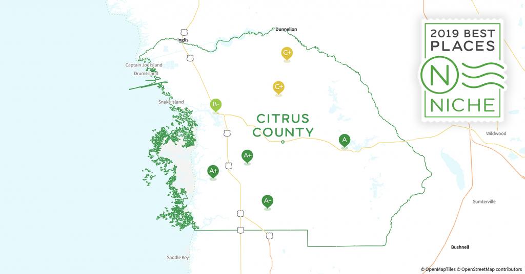 2019 Best Places To Live In Citrus County, Fl - Niche - Citrus Hills Florida Map