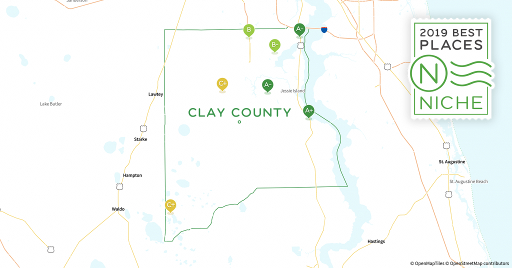 2019 Best Places To Raise A Family In Clay County, Fl - Niche - Fleming Island Florida Map