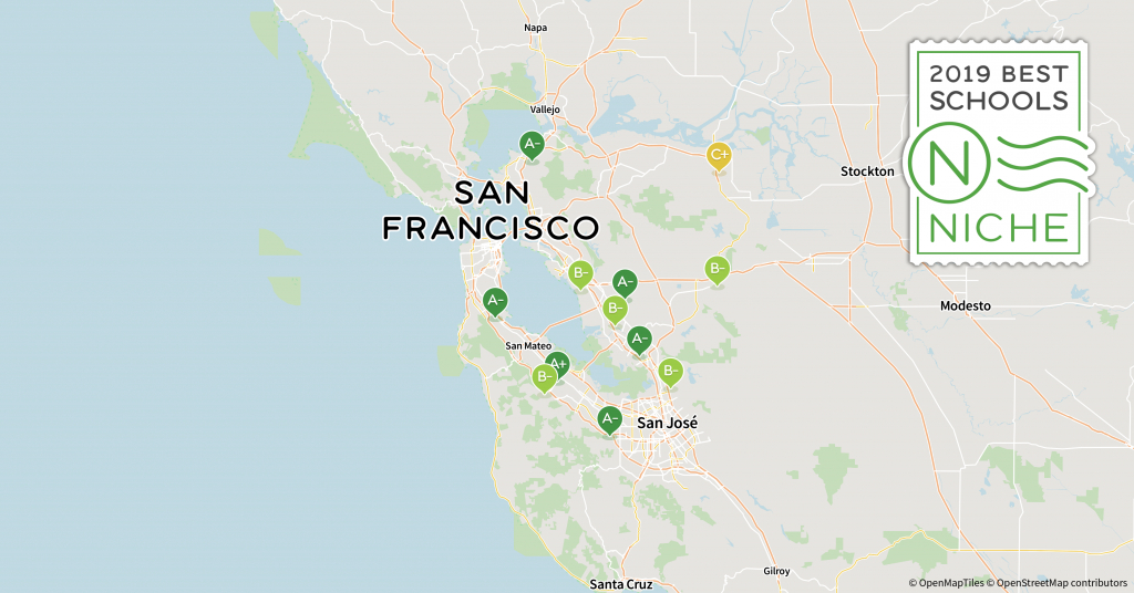 2019 Best School Districts In The San Francisco Bay Area - Niche - California School District Rankings Map