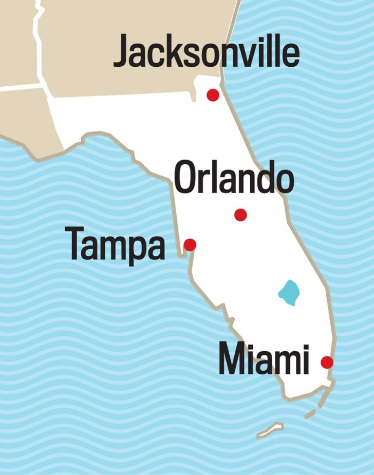 Where Is Palm Harbor Florida On The Map