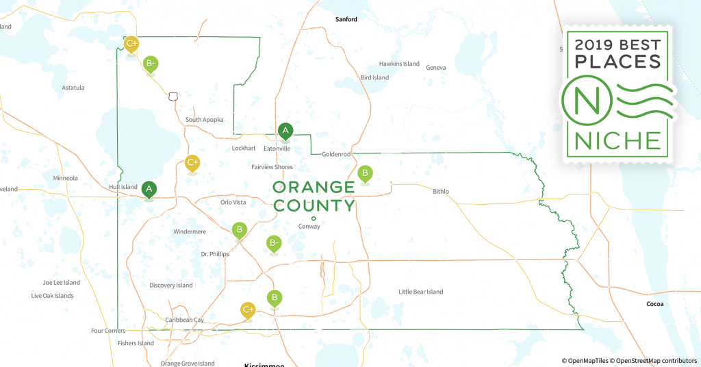 2019 Safe Places To Live In Orange County, Fl - Niche - Orange County Florida Crime Map