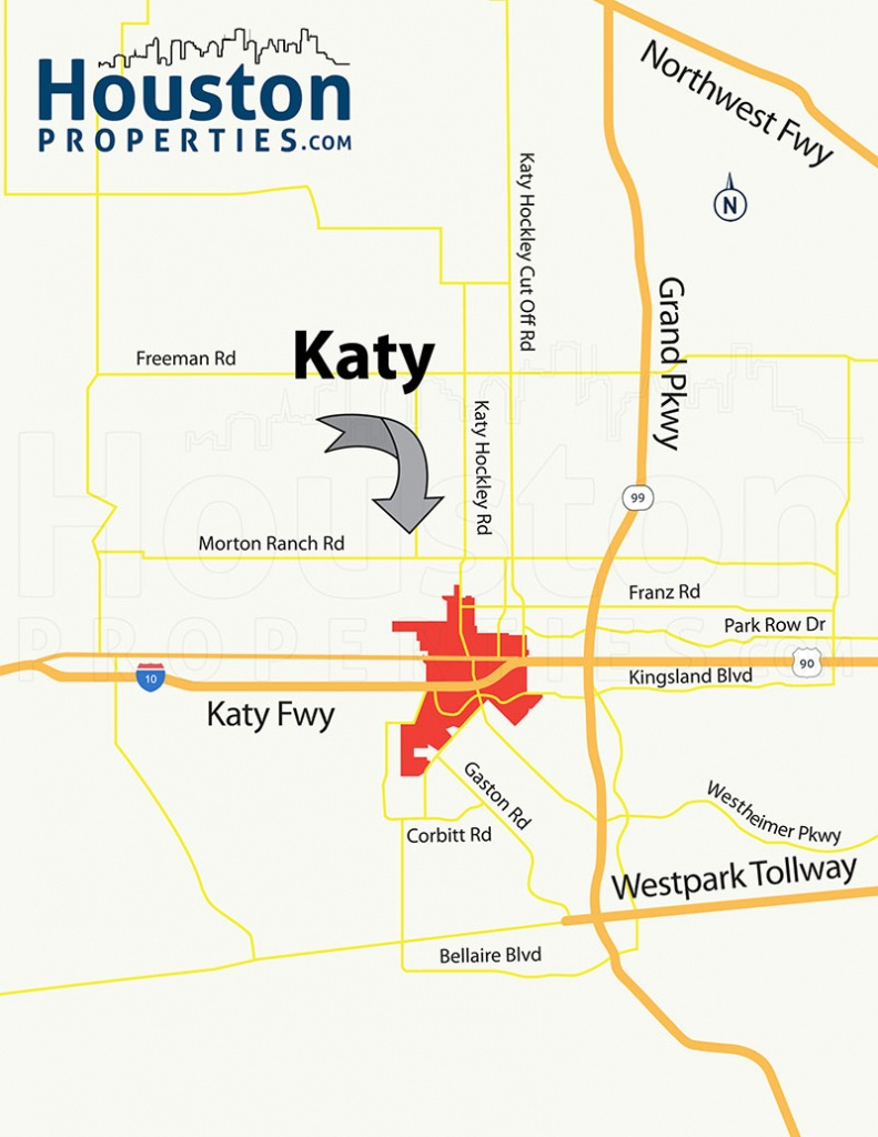 2019 Update: Guide To Katy Neighborhood, Real Estate & Homes For Sale - Midnight Texas Map