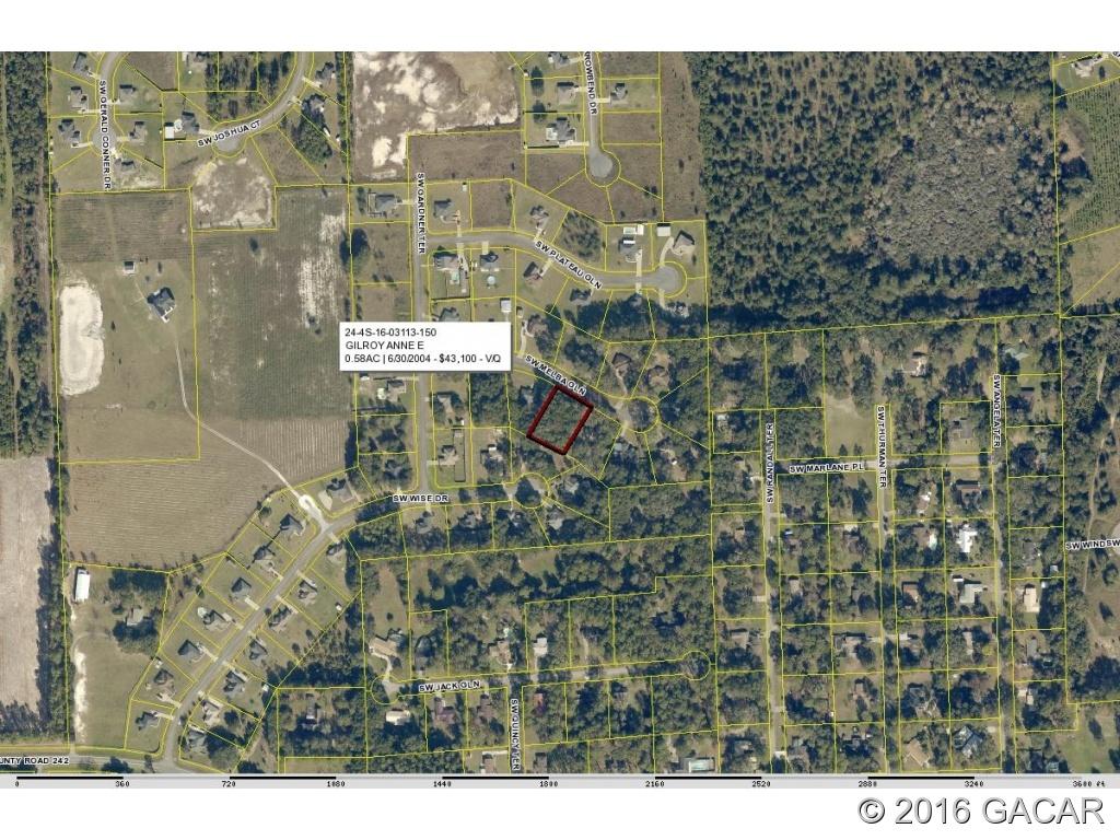 204 Sw Melba Road Lake City Fl - Gainesvillesales - Map Of Lake City Florida And Surrounding Area
