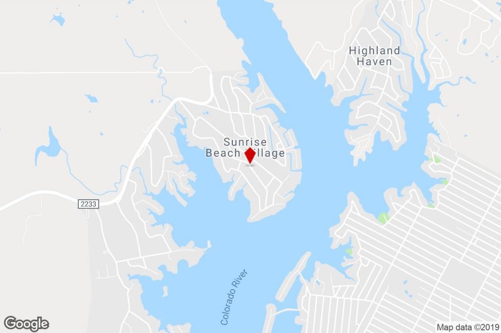 230 Overstreet Dr, Sunrise Beach, Tx, 78643 - Residential (Land - Sunrise Beach Texas Map