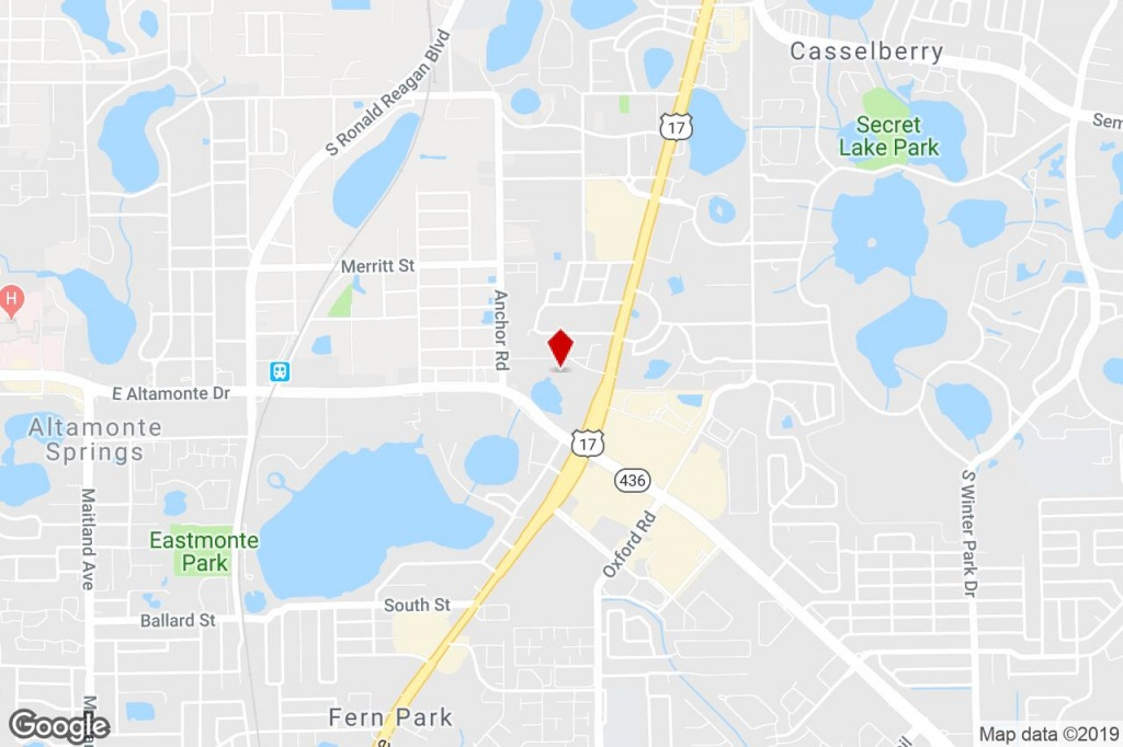 261-299 Live Oaks Blvd, Casselberry, Fl, 32707 - Property For Lease - Casselberry Florida Map