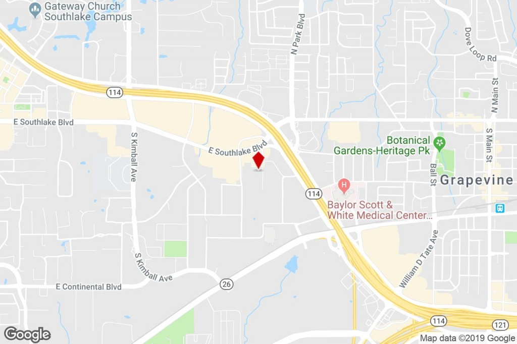 300 Bank St, Southlake, Tx, 76092 - Warehouse Property For Sale On - Where Is Southlake Texas On A Map Of Texas