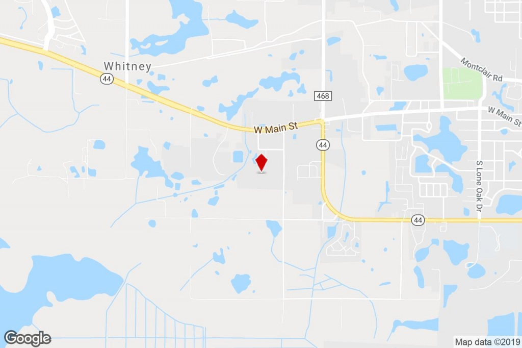 425 Flatwoods Rd, Leesburg, Fl, 34748 - Industrial Property For Sale - Leesburg Florida Map