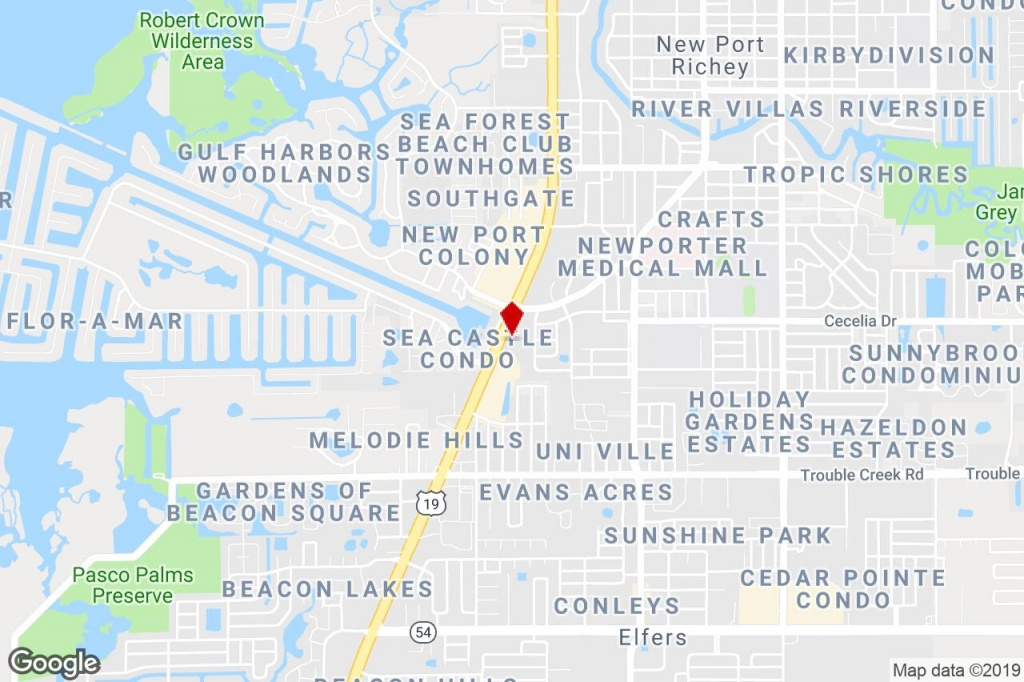 4914 Us Highway 19, New Port Richey, Fl, 34652 - Freestanding - Google Maps Port Richey Florida