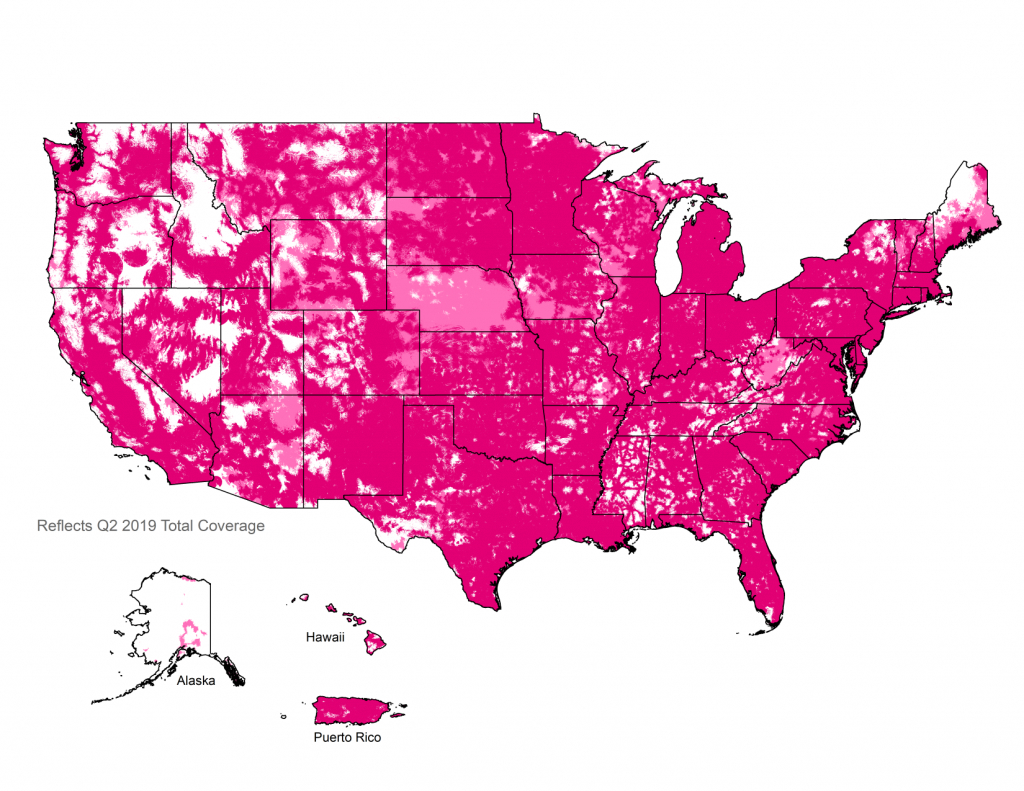 4G Lte Coverage Map | Check Your 4G Lte Cell Phone Coverage | T-Mobile - Cellular One Coverage Map Texas