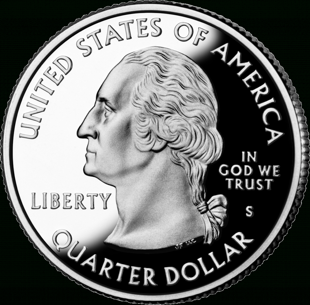 50 State Quarters - Wikipedia - Us Quarter Map Printable