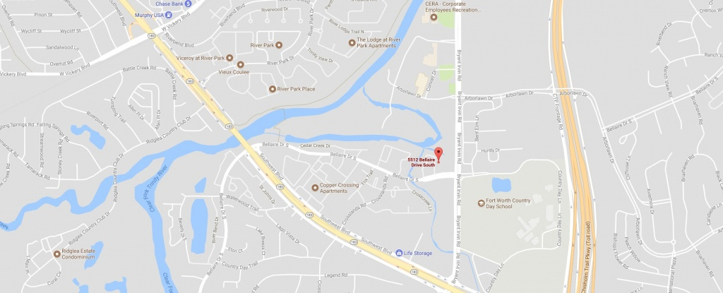 5512-Bellaire-Dr-S-Google-Maps - Vertical Chiropractic - Google Maps Fort Worth Texas