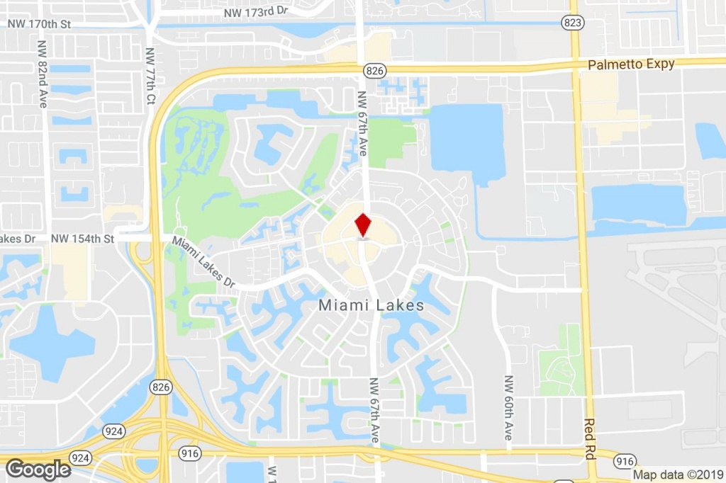 5801 Nw 151 Street, Miami Lakes, Fl, 33014 - Office Condo Property - Miami Lakes Florida Map