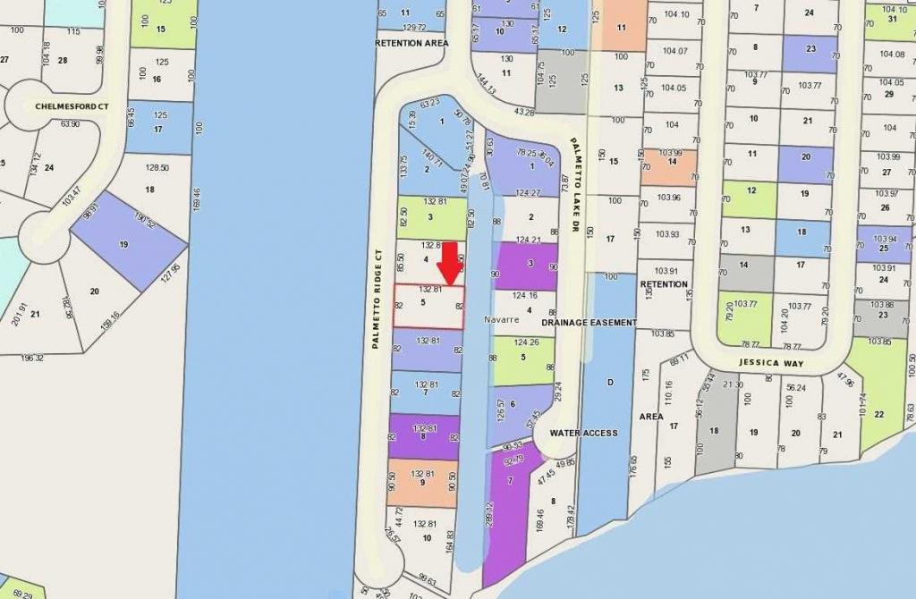 5D Palmetto Ridge Court Navarre, Fl 32566   Mls 797682 - Navarre Florida Map