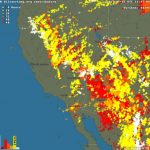 79 Wildfires In Northern California In Last 24 Hours, Most Likely - Lightning Map California