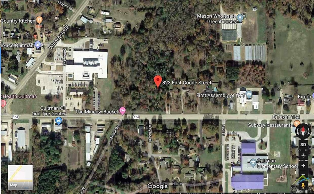 823 E Goode - Quitman - 10102583 - Quitman Texas Map