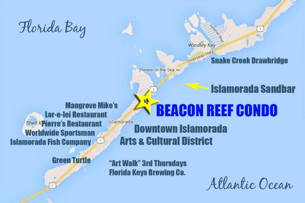 83201 Old Highway Islamorada, Fl. | Mls# 570109 | Florida Keys - Islamorada Florida Map