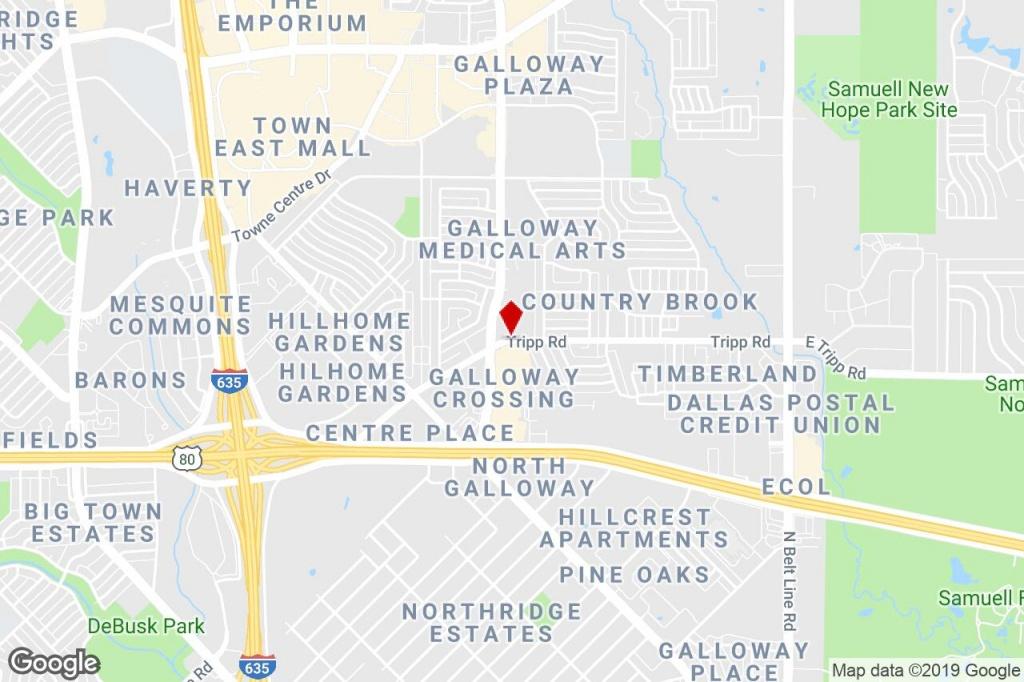 909 Tripp Road, Mesquite, Tx, 75150 - Free Standing Bldg Property - Google Maps Mesquite Texas