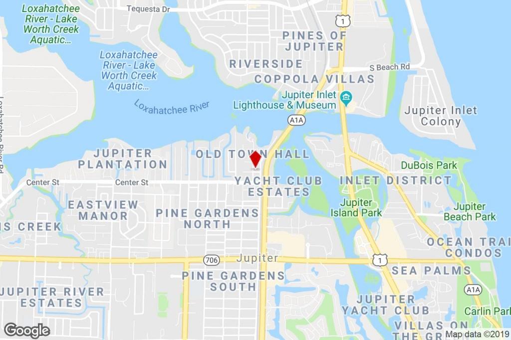 935 Townhall Ave, Jupiter, Fl, 33458 - Loft/creative Space Property - Jupiter Beach Florida Map