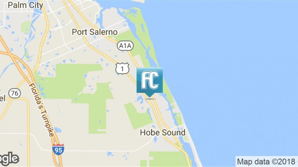 9795 Se Federal Highway, Hobe Sound, Fl 33455 - Development Site - Hobe Sound Florida Map