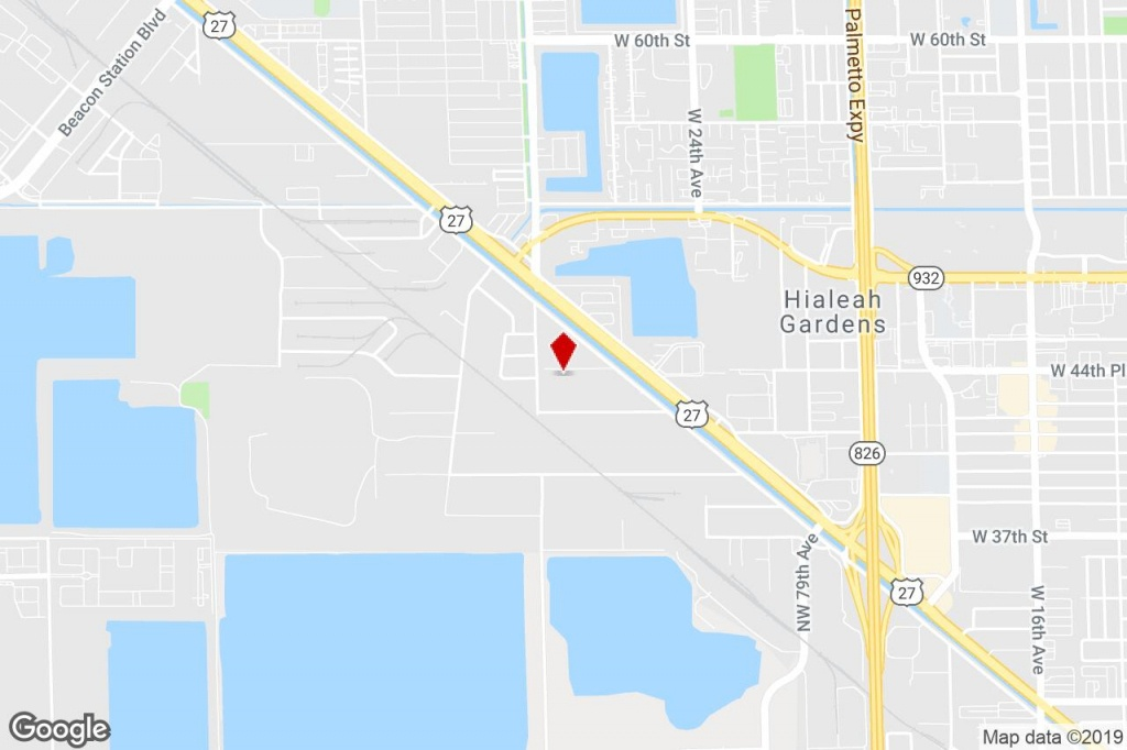 9800 Nw 87Th Ave, Medley, Fl, 33178 - Distribution Property For Sale - Medley Florida Map