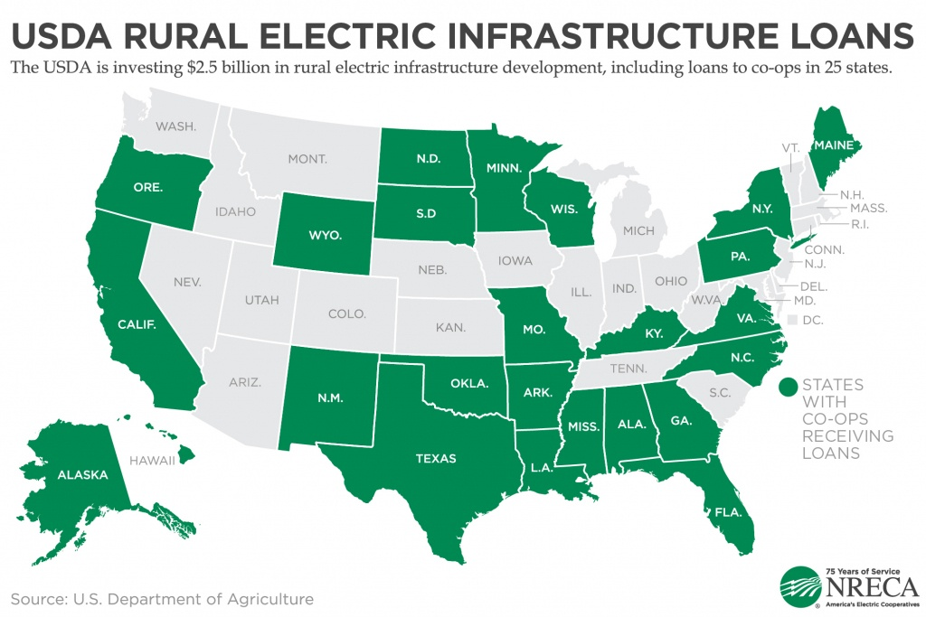 A $2.5 Billion Boost For Rural Infrastructure From Usda - America's - Usda Rural Development Map Florida