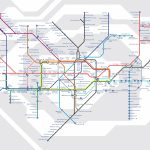A Guide To Alternative London Tube Maps | Londonist - Printable London Tube Map Pdf
