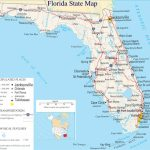 A Large Detailed Map Of Florida State | For The Classroom In 2019   Florida St Map