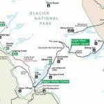 A Quick Overview Map Of Glacier National Park - My Yellowstone Park - Printable Map Of Glacier National Park