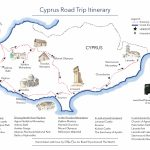 A Road Trip In Cyprus   Free Printable Map   Road Trips Around The World   Road Trip Map Printable